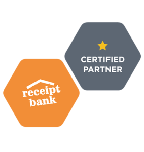 Receipt Bank Certification Badge One Star